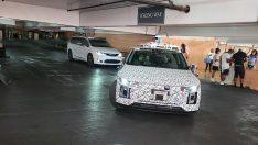 Hyundai Ioniq 5 Robotaxi Las Vegas Havalimanı'nda test ediliyor
