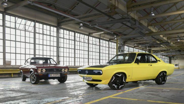 Opel Manta GSe ElektroMOD: Hayal gücü, ekip çalışması ve teknolojinin birleşimi !