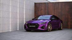 Bu Mor Audi RS7, Bugatti Veyron ve LaFerrari'den daha güçlü